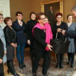 Presidentti Niinistö tapasi Yrittäjänaisten edustajia