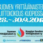 Yrittäjänaisten liittokokouspäivät Kuopiossa 28.-30.9.2018